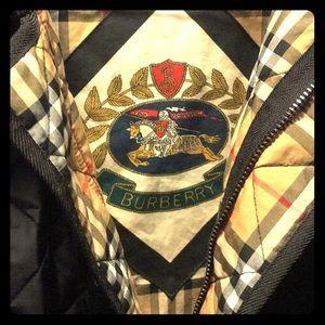 Burberry Down Jacket Black MINT Condition